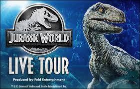 4 Premium Tix to Jurassic Park Live