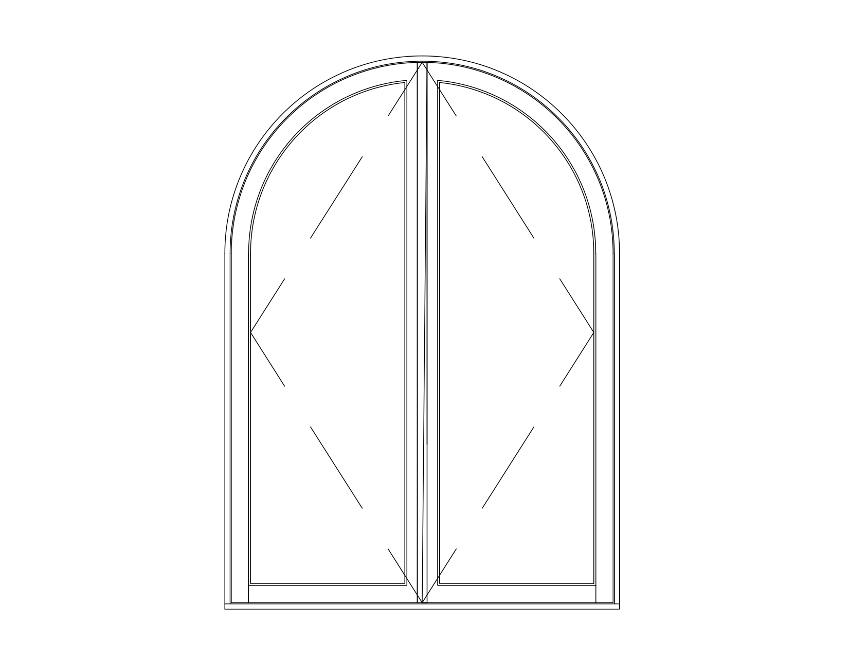 circle top french casement ele.png