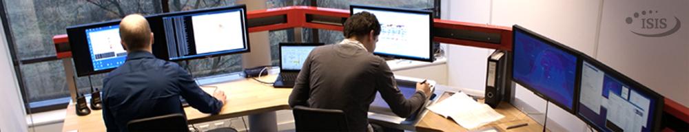 Triton-1 control room,  ISIS , Delft, Netherlands.
