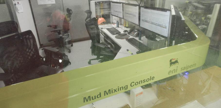 Mud Control Room