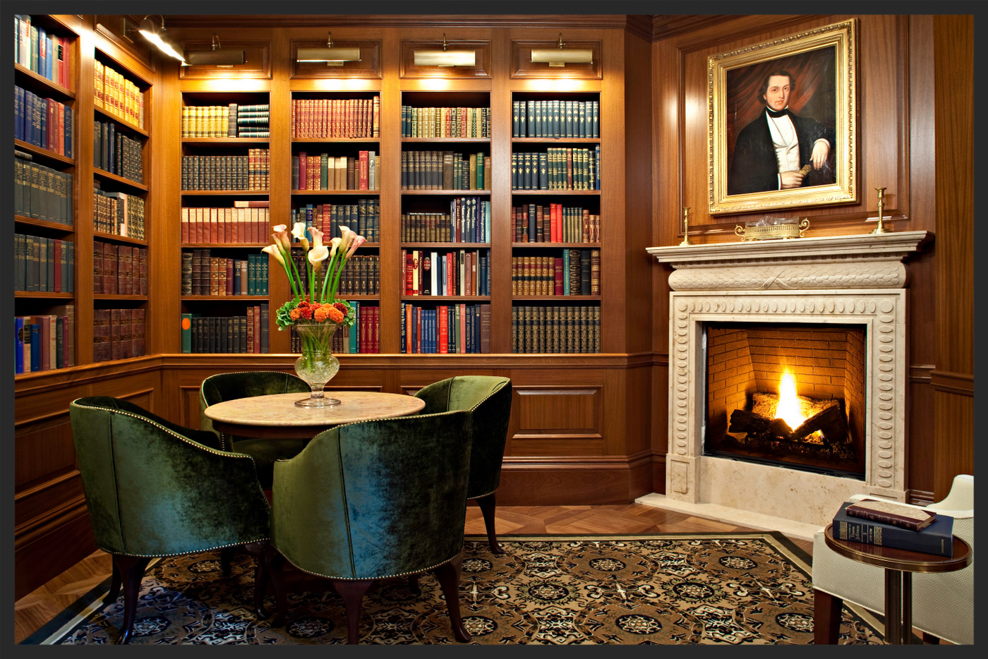 The Book Room. Nice digs.