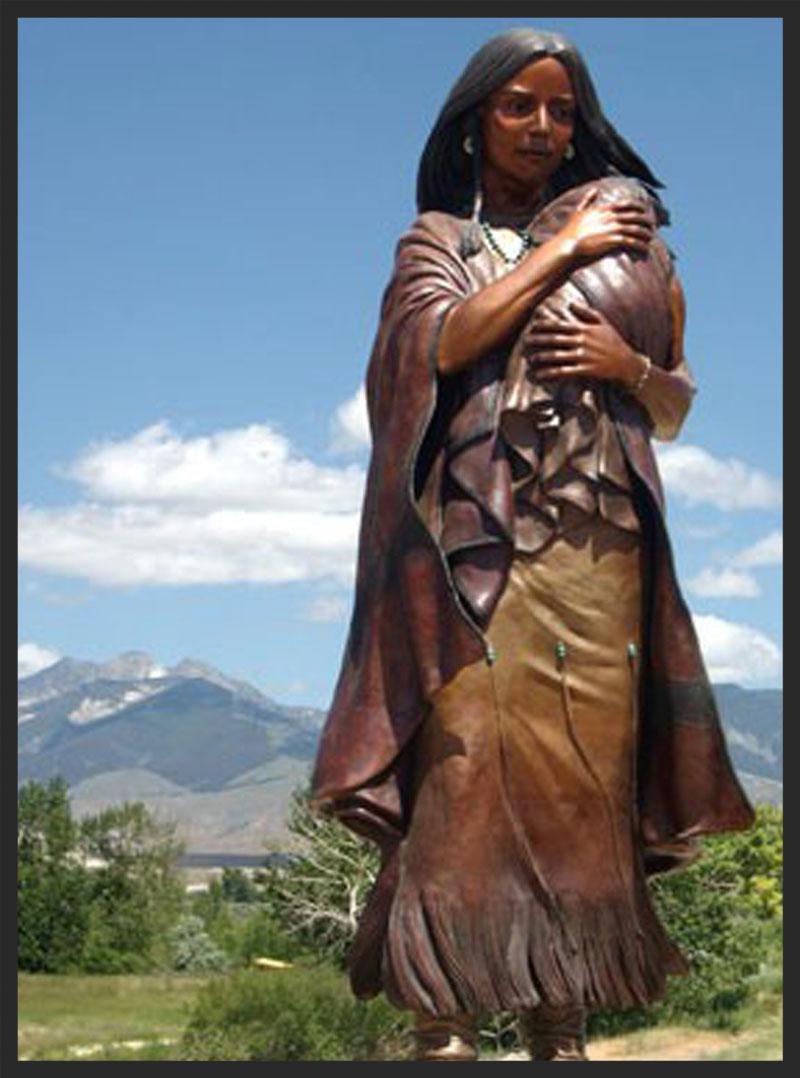 Sacagawea was one tough mother.