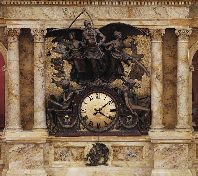The Rotunda Clock ( Image: Library of Congress ).