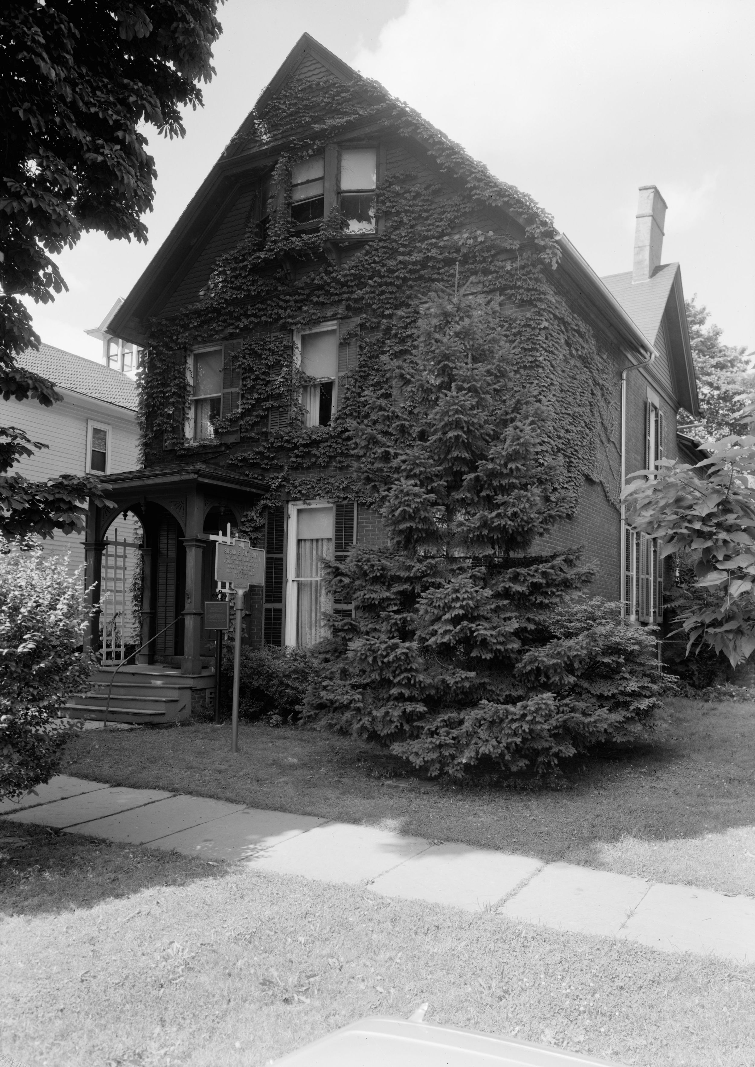 Susan B. Anthony's Rochester, NY home.