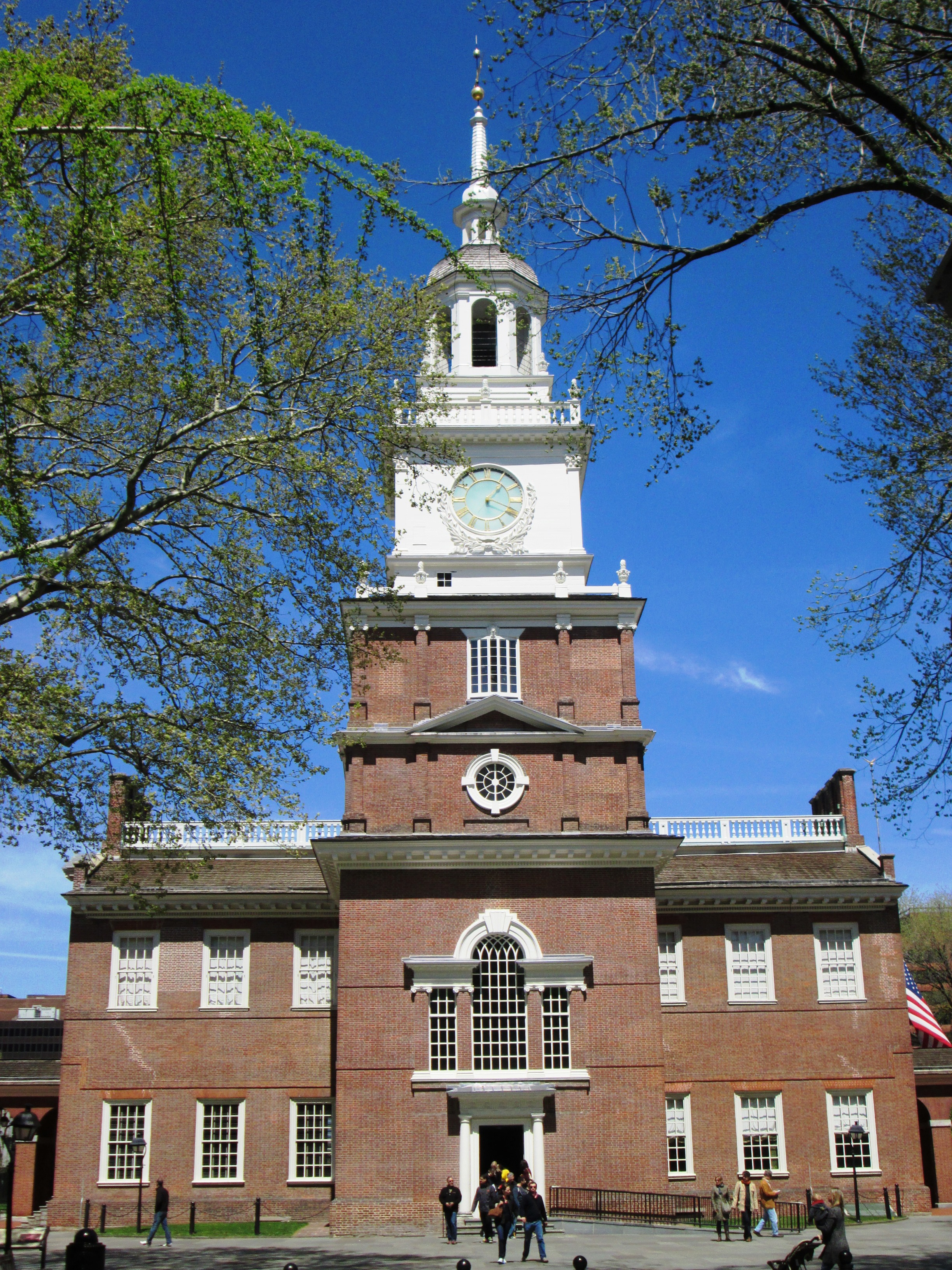 Gotta make our Independence Hall appointment.