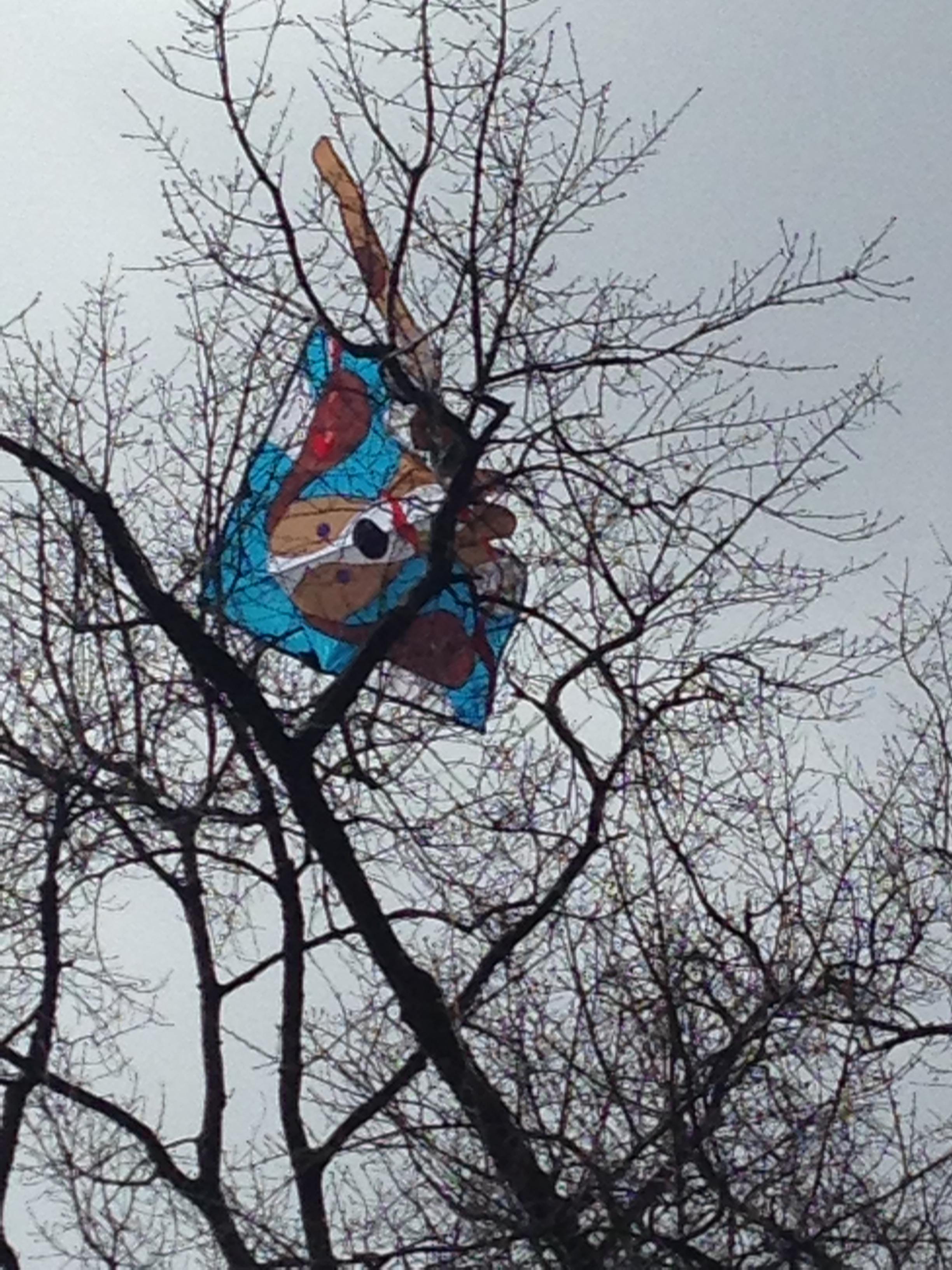 A sacrifice to the kite gods