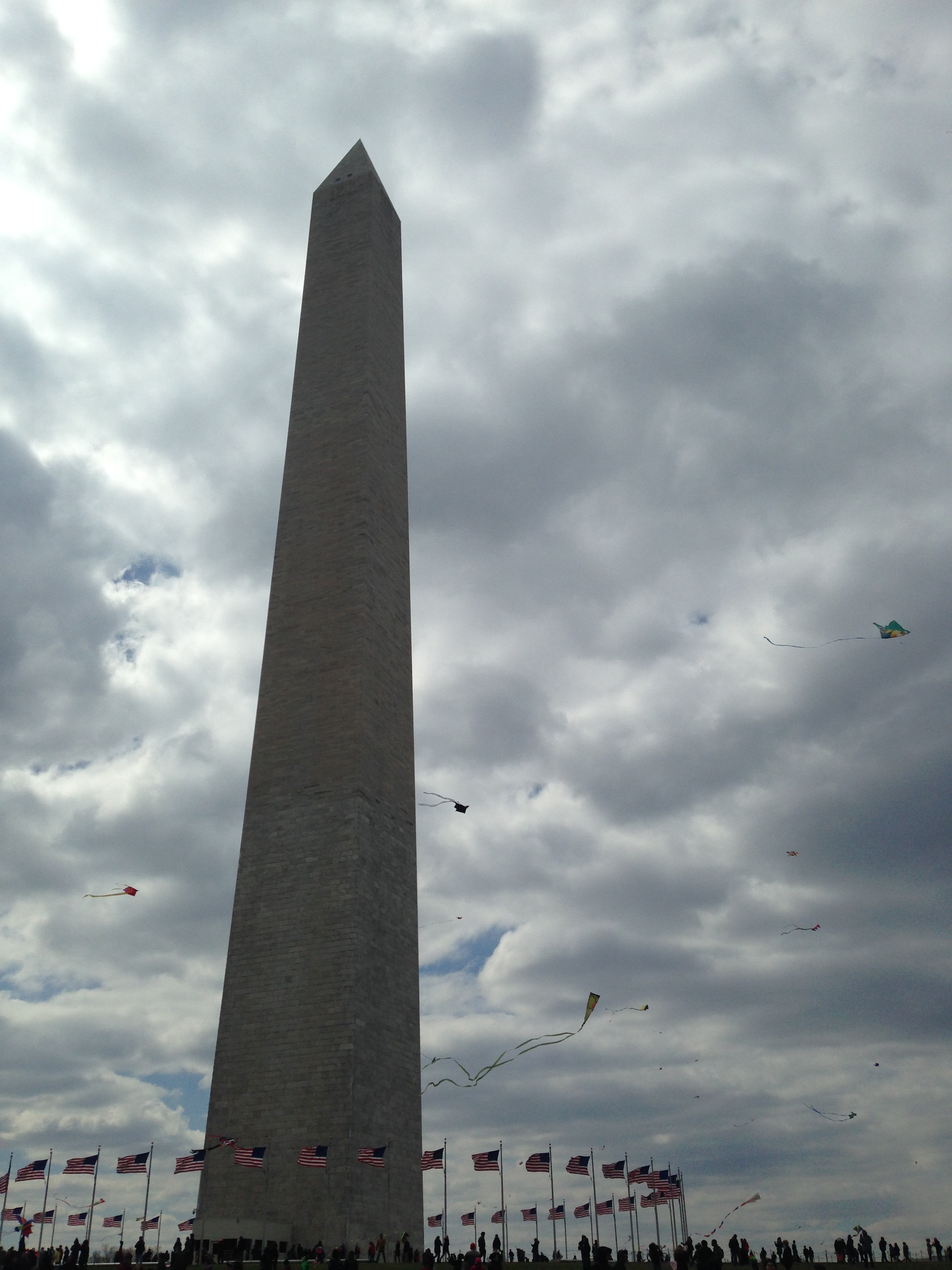 Swarming the Washington Monument