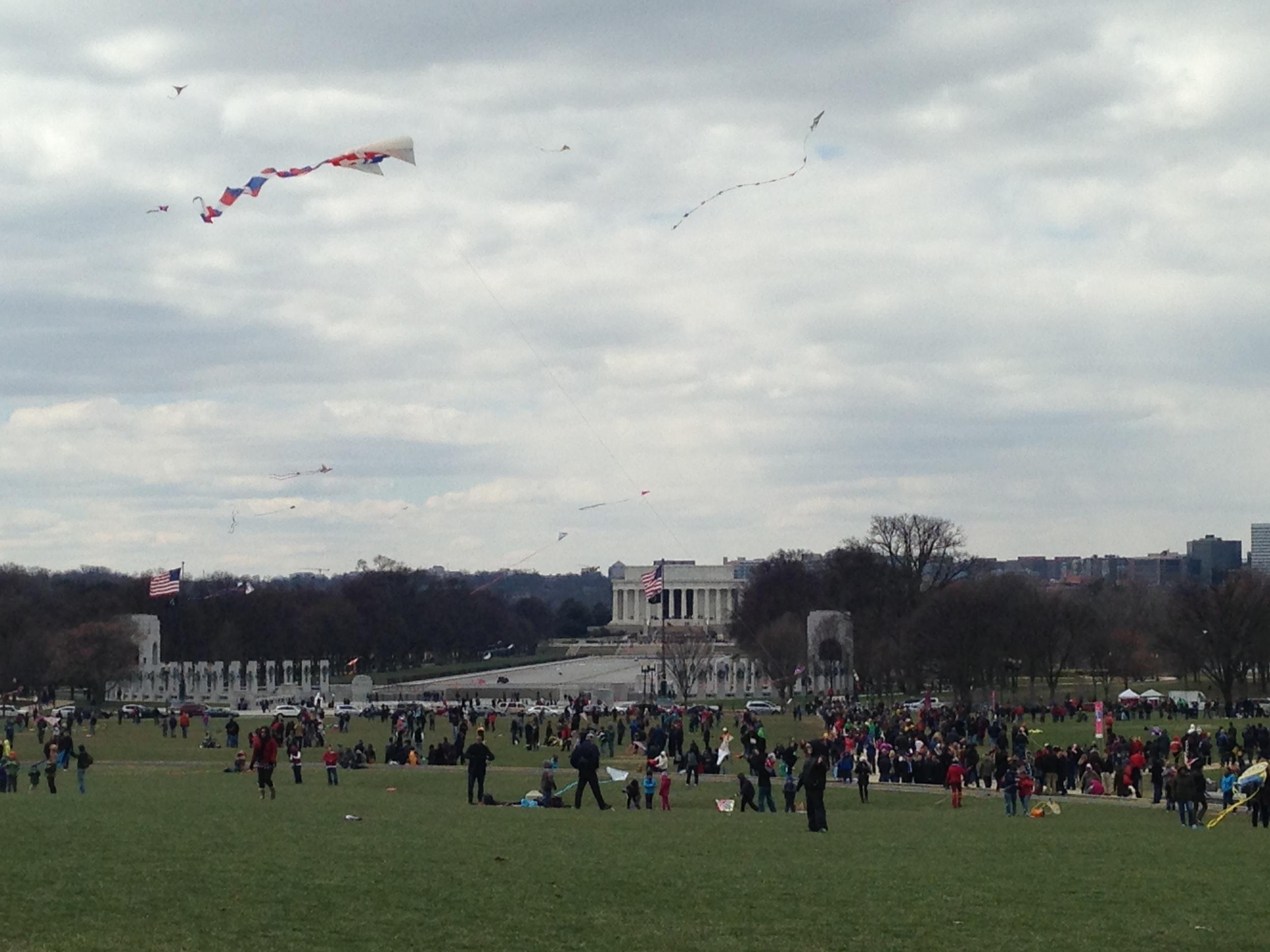 View toward the Lincoln Memorial