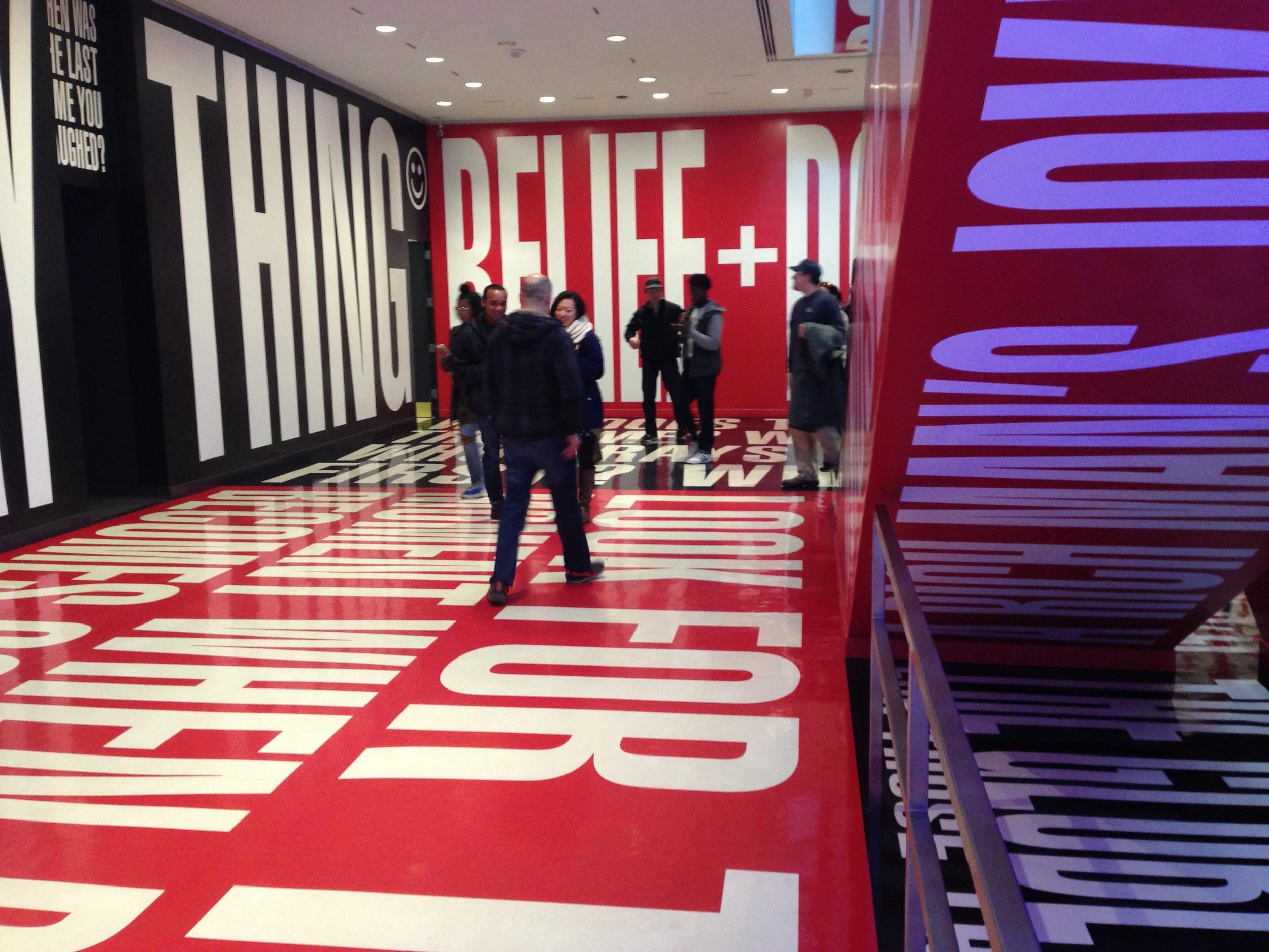 Inside the Hirshhorn Art Museum