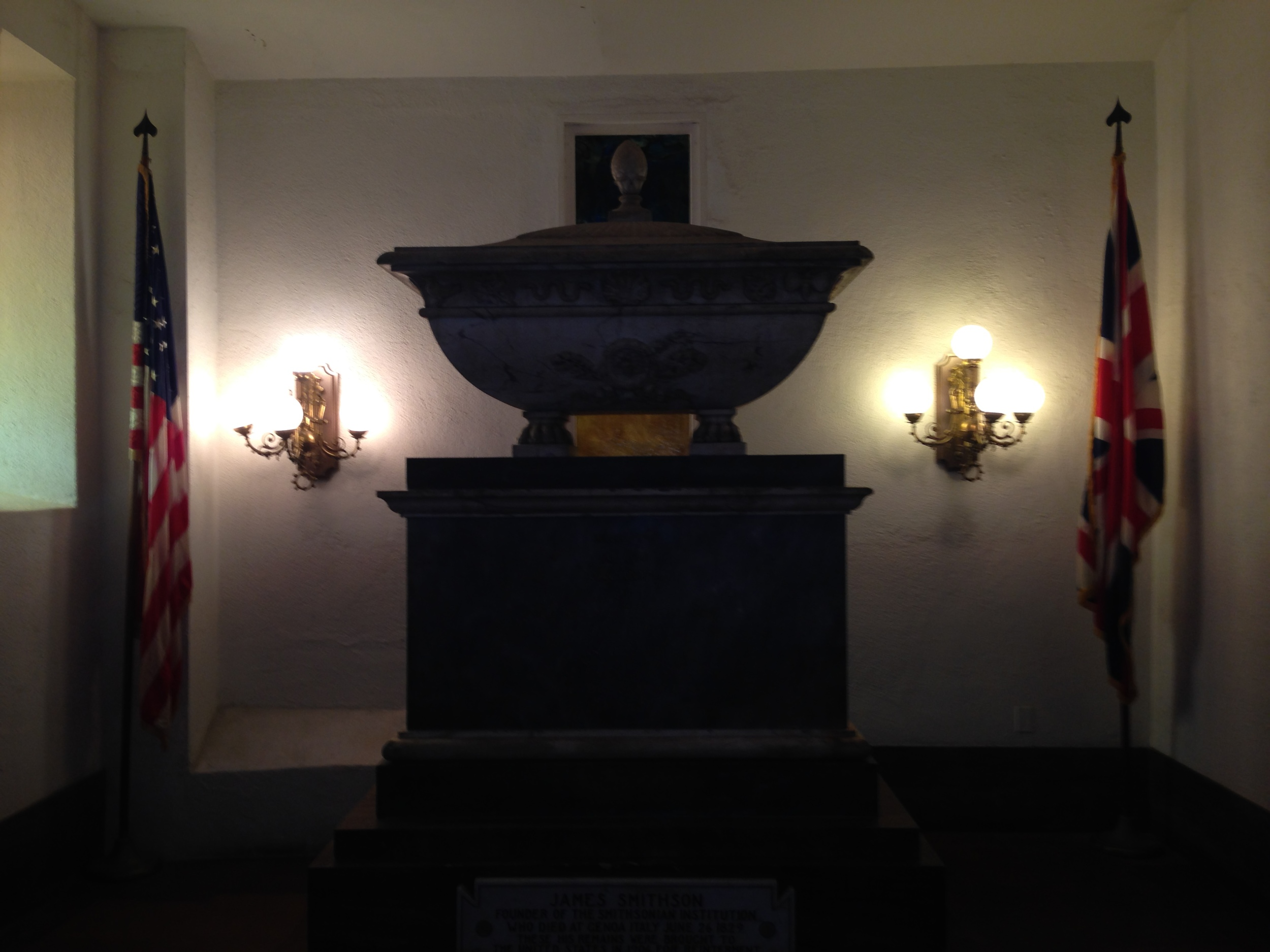 James Smithson's final resting place