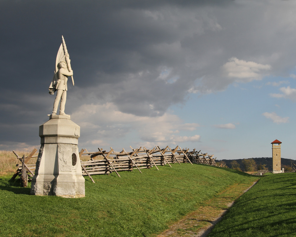 Antietam - America's bloodiest day. Mixture walking & driving. Approximately 3 hrs.