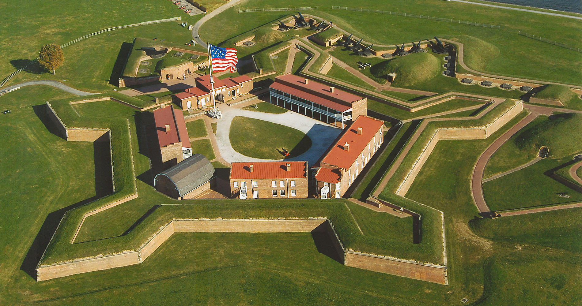 Fort McHenry is a gem - but it needs sunshine (much like a temperamental houseplant).