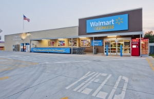 Walmart's first Express store, AR