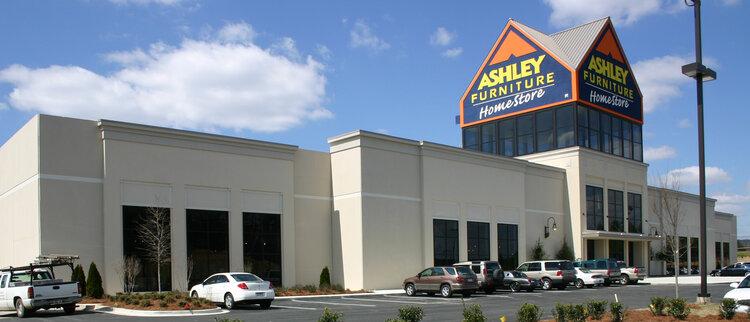 Retail David Bessent Architects, Ashley Furniture Mcallen Texas