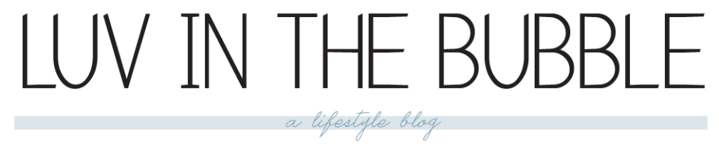 Luv in the Bubble Blog Product Spotlight 03.2015
