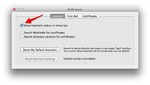Check that box and you'll lock see an icon appear in the menu bar.
