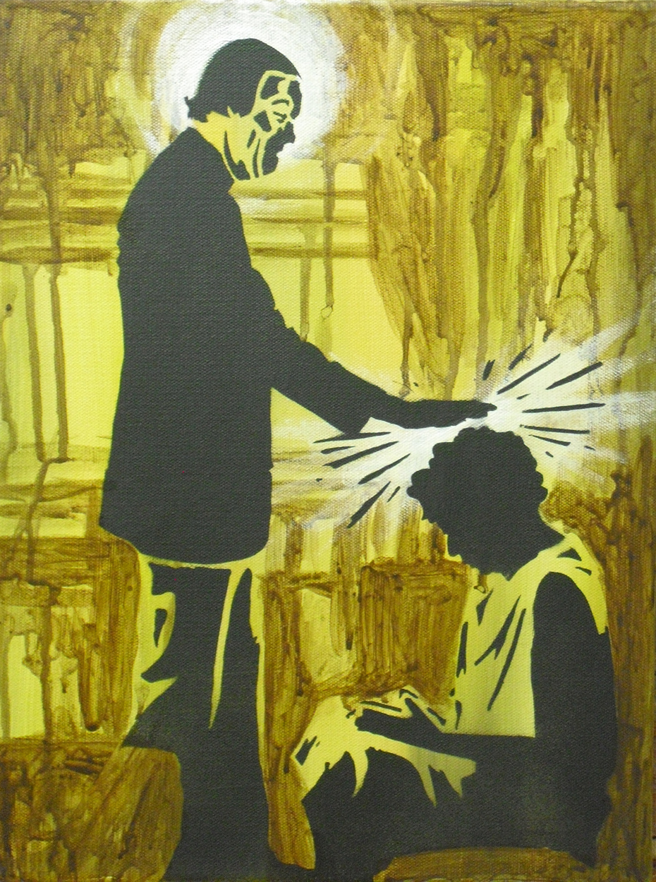 """""""The Healer"""" - by Jesse Weiman, based on an archival photograph"""