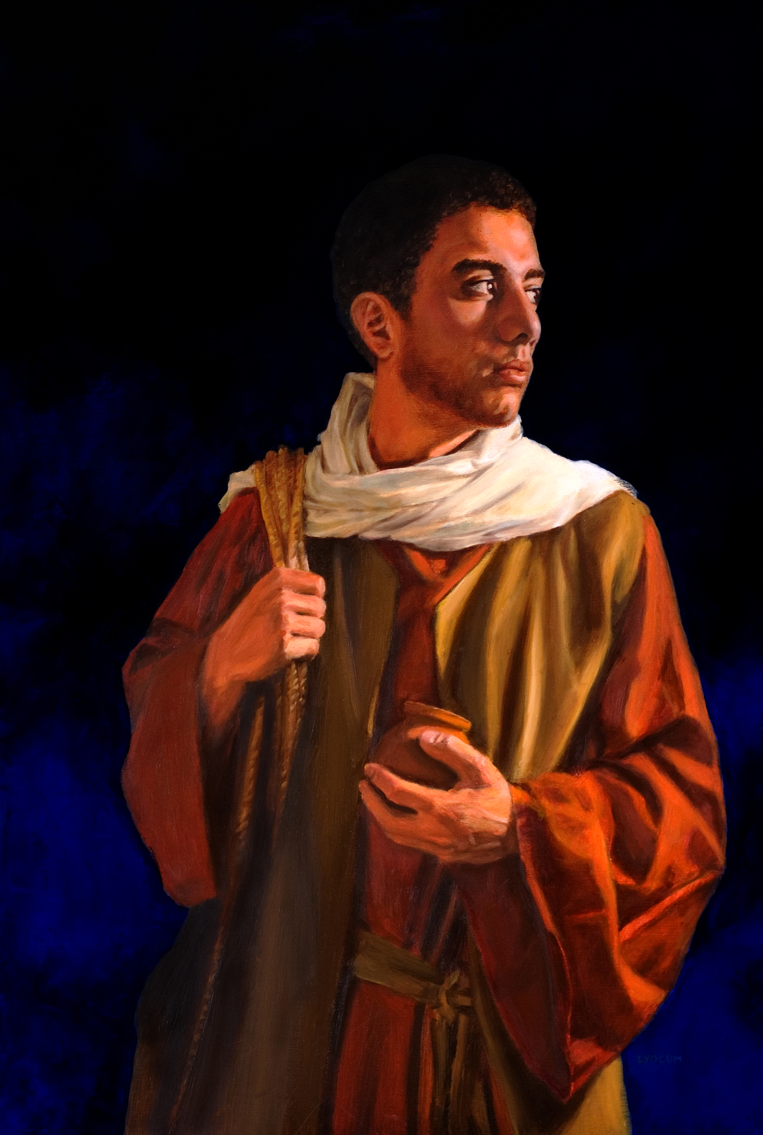 """John The Beloved"" - by Lester Yocum"