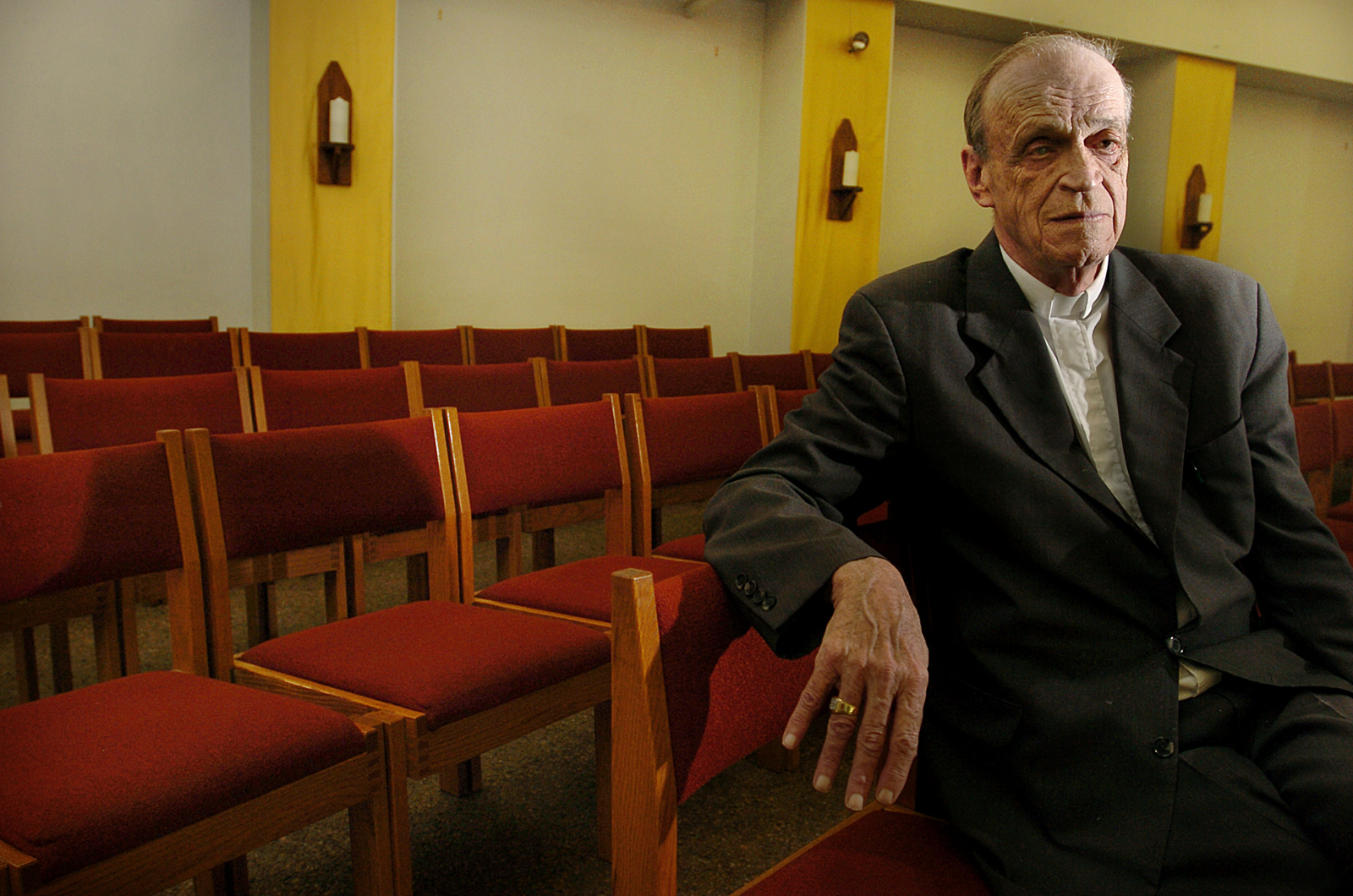 TQ at St. Kateri Takewitha, a parish he started late in his career