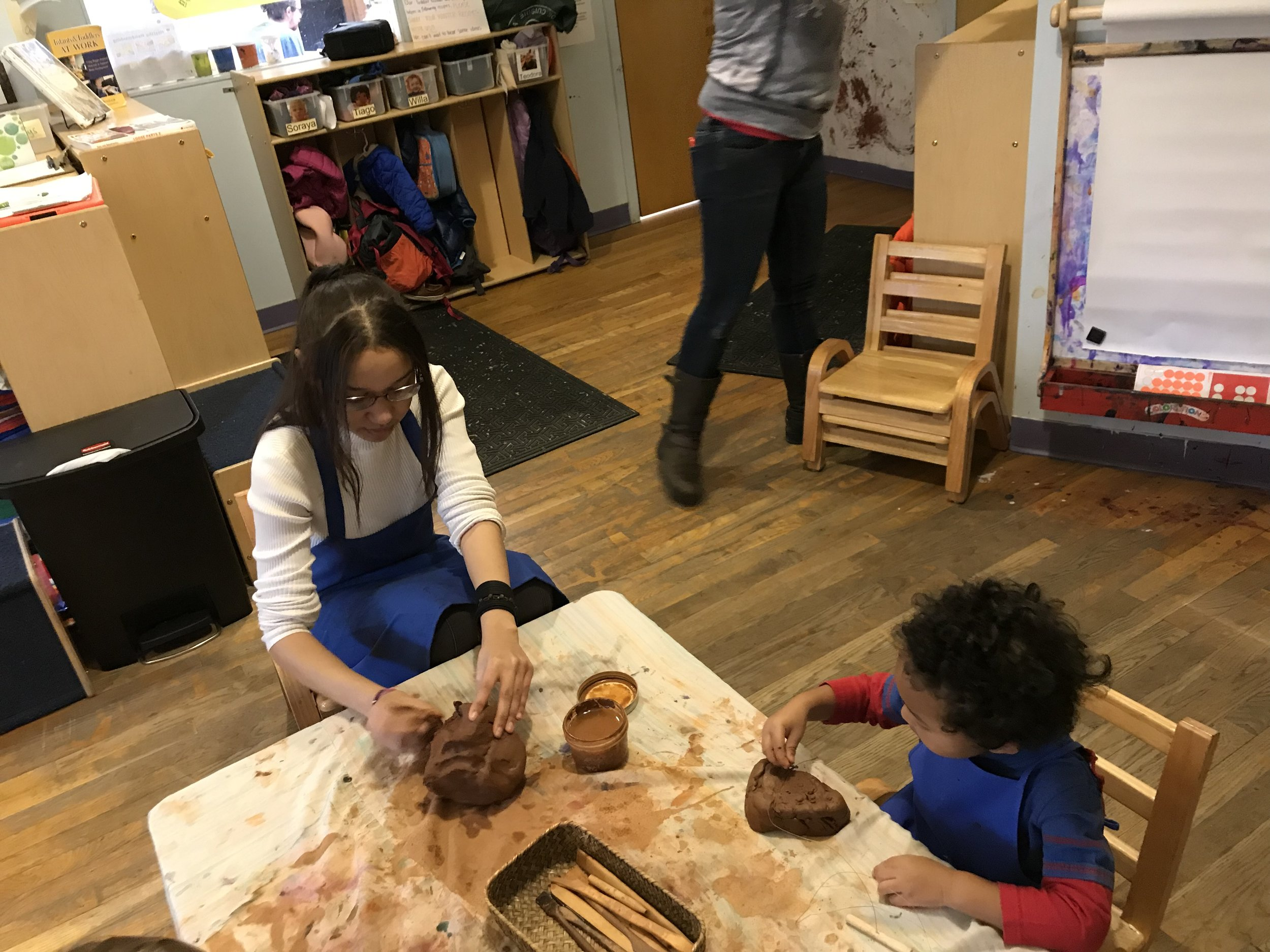 - Please join us in welcoming Marly Barros to our Toddler Classroom. Marly is a senior at Commuity Charter School of Cambridge and is doing her senior internship with us. Marly will be with us on Wednesdays from 8:30-3:30
