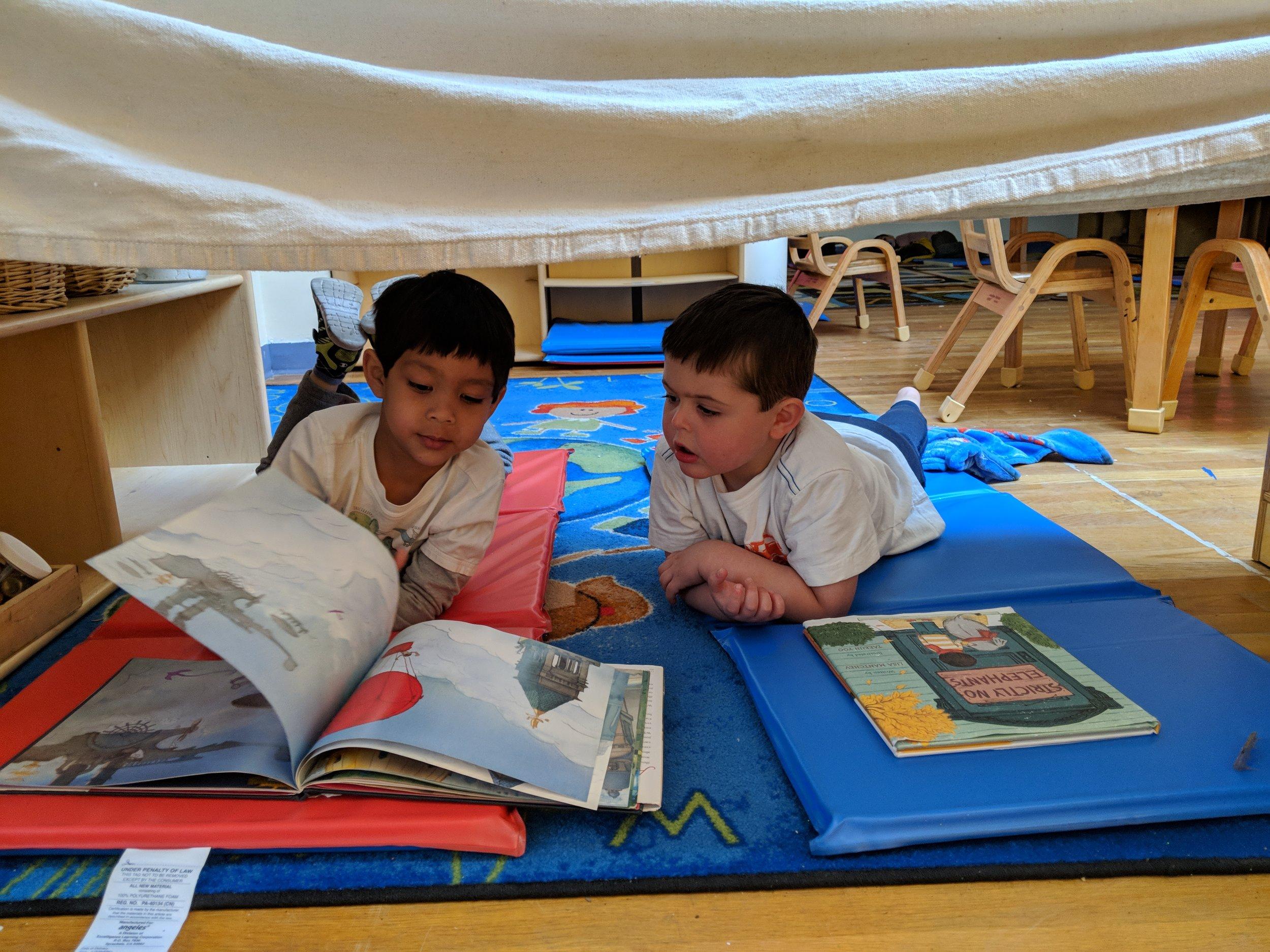 The joy of reading -