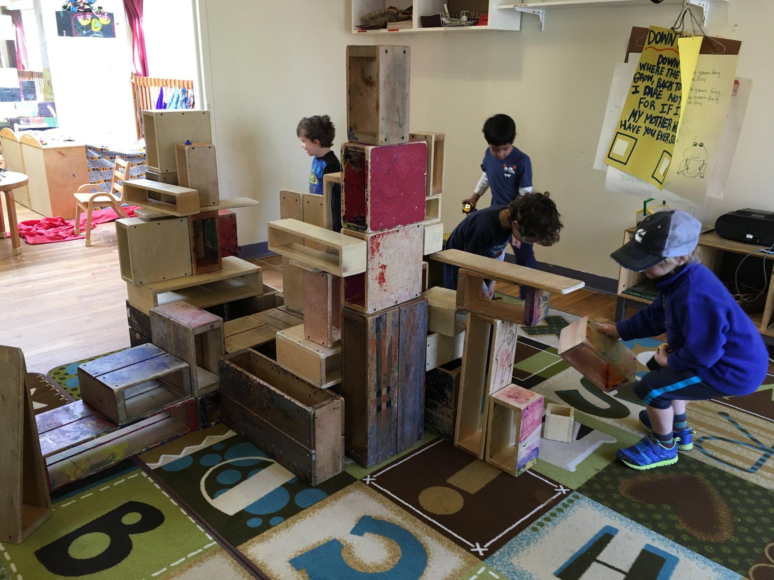 - Constructing with big blocks