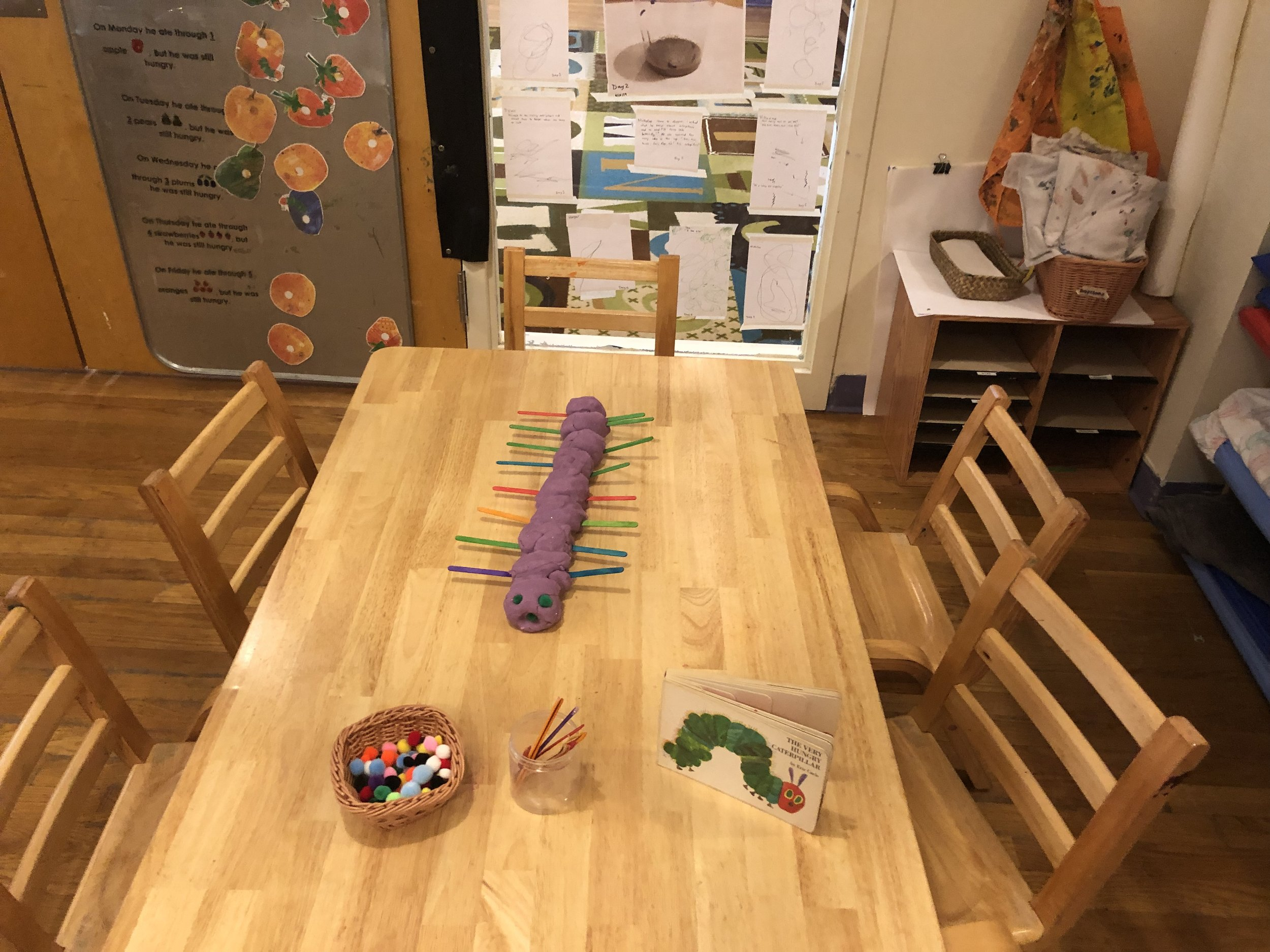 The Very Hungry Caterpillar by Eric Carle -