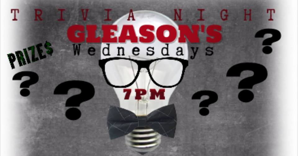 Every Wednesday night is Trivia Night hosted by  Let's Go Trivia !