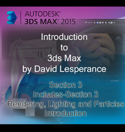 Introduction to 3ds max Section 3