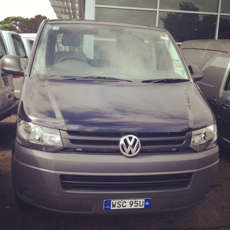 My van at Barloworld Volkswagen