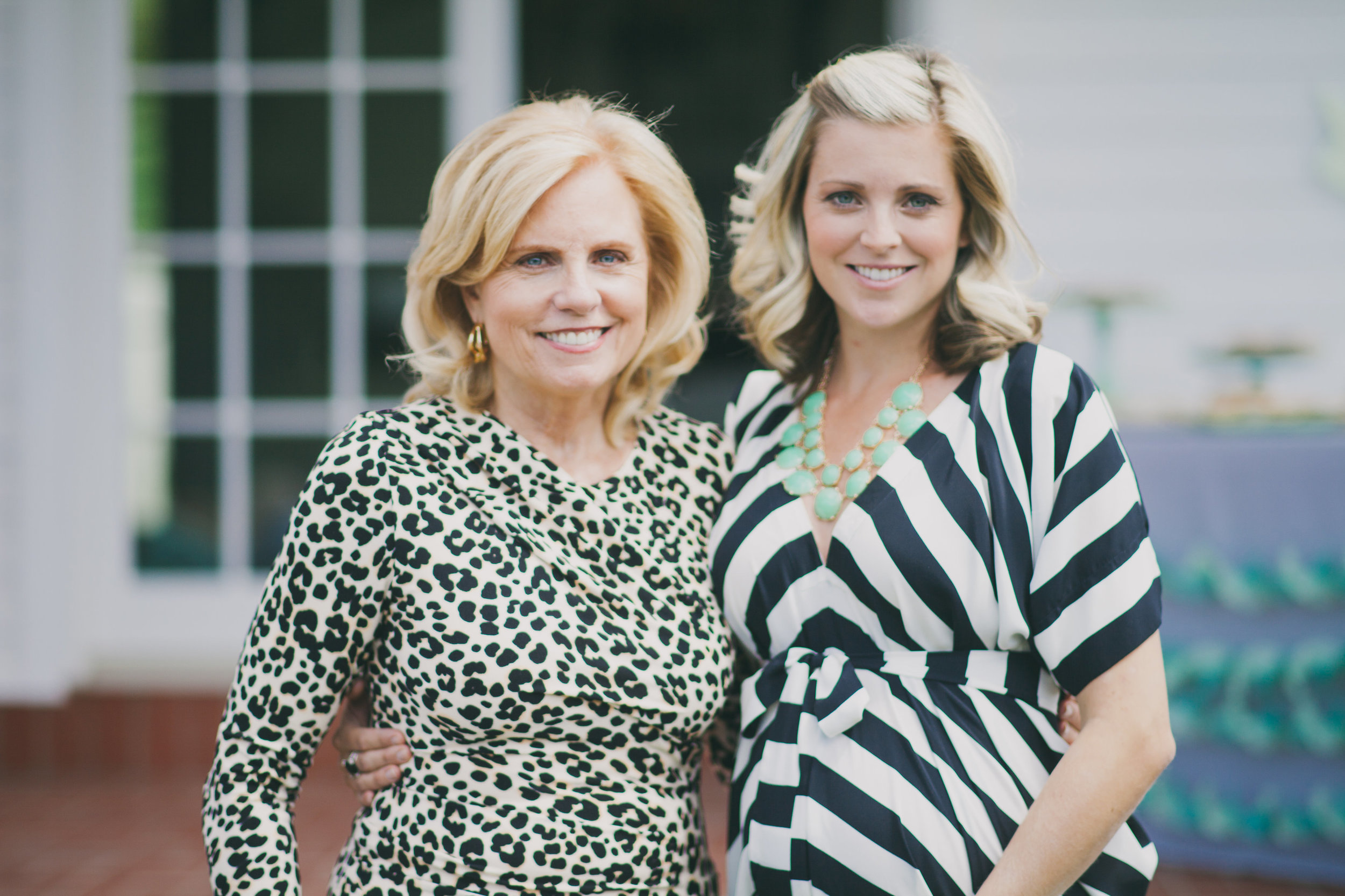 Our Mom and Natalie {future-mommy}