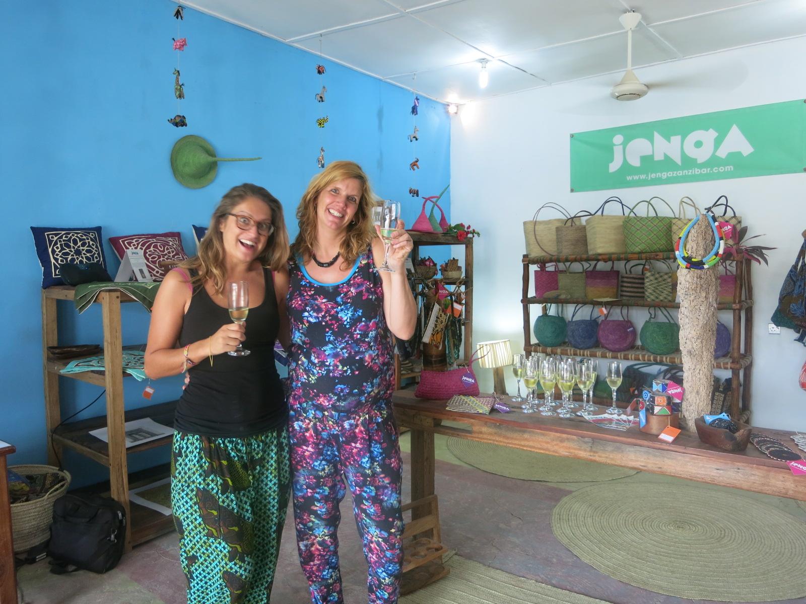 Nicoline & Melanie business partners