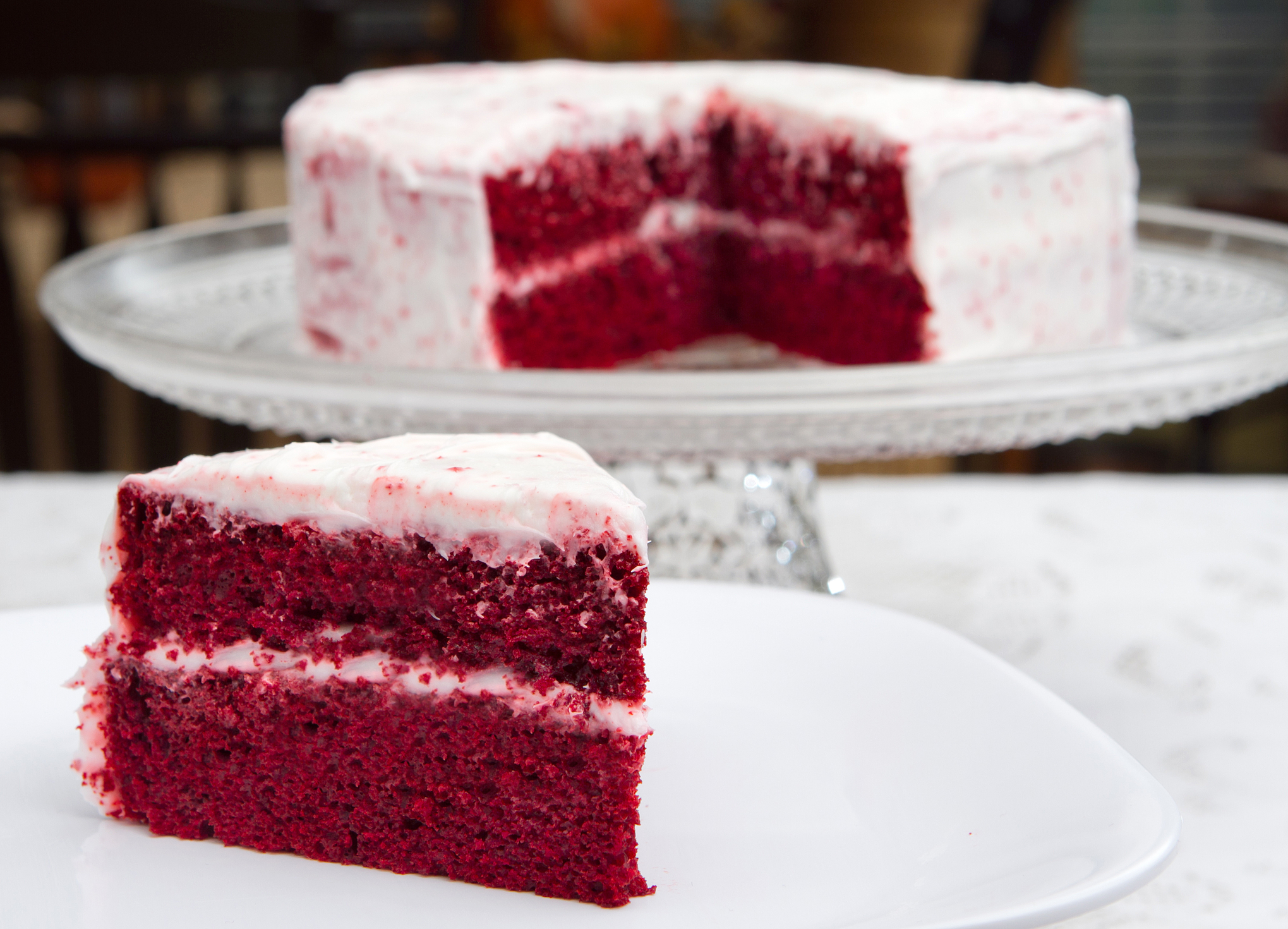 Red Velvet Beet Cake with Cream Cheese Frosting