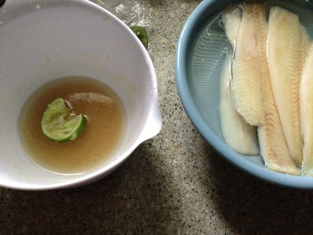 Tropical Dipping Sauce for Fish
