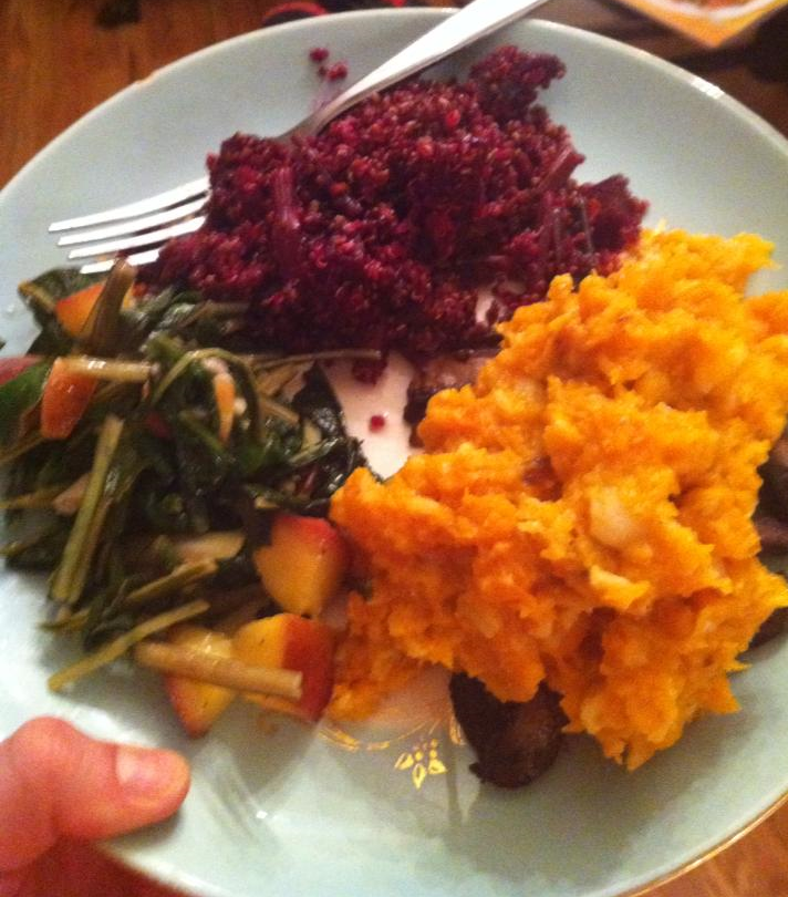Color on yo plate! #10dayvitality #veggiesrock