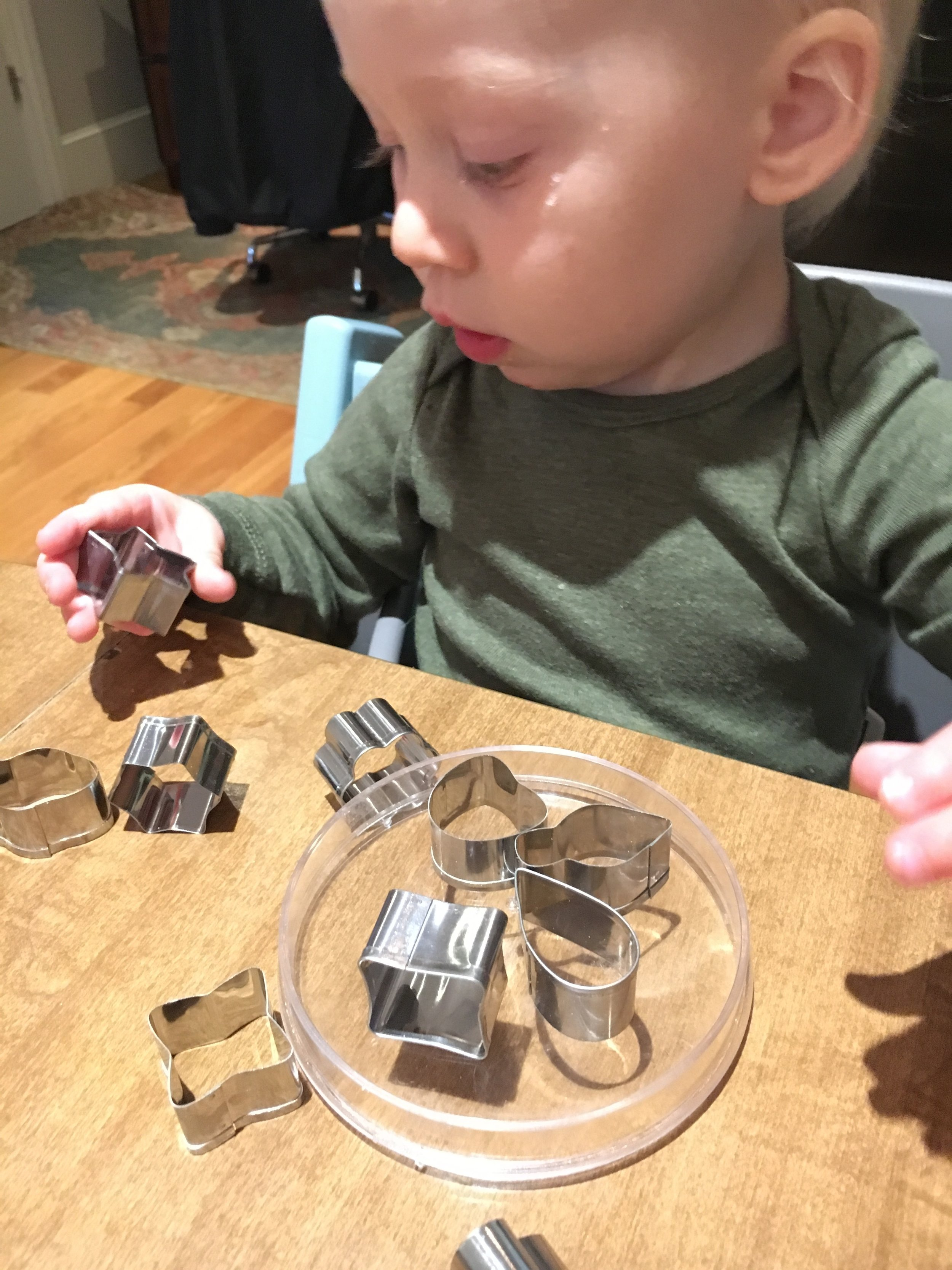 Choosing a cookie cutter is hard work!