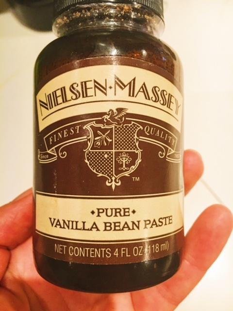 Pure Vanilla Bean Paste, you rock the baking world