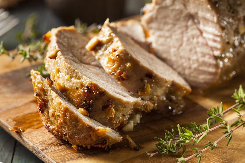 6 Ingredient Slow Cooker Pork Tenderloin