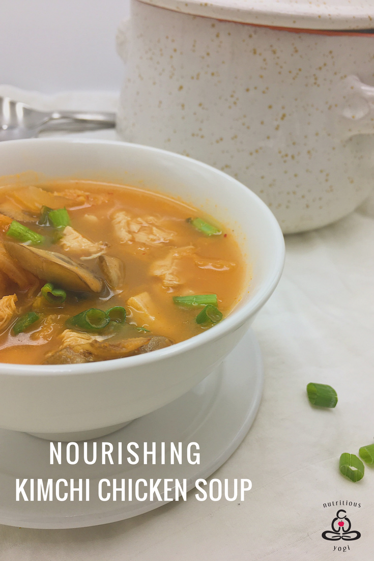 Nourishing Chicken Kimchi Soup
