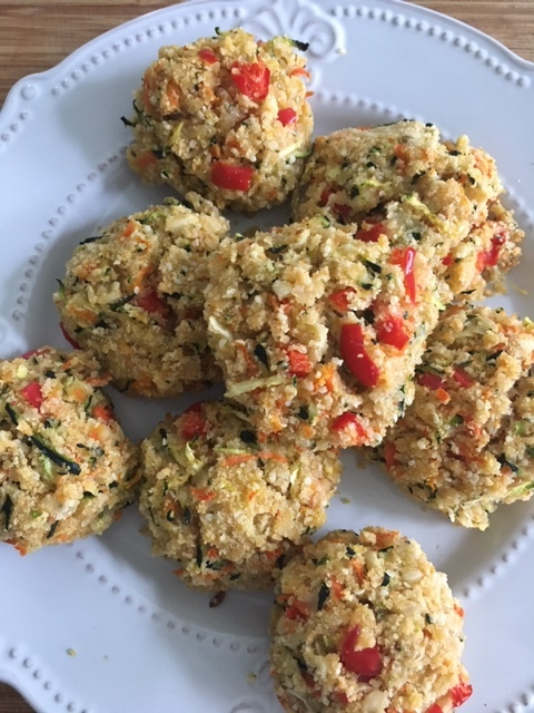 Zucchini Fritters is one of 5 of my favorite healthy recipes for babies and toddlers