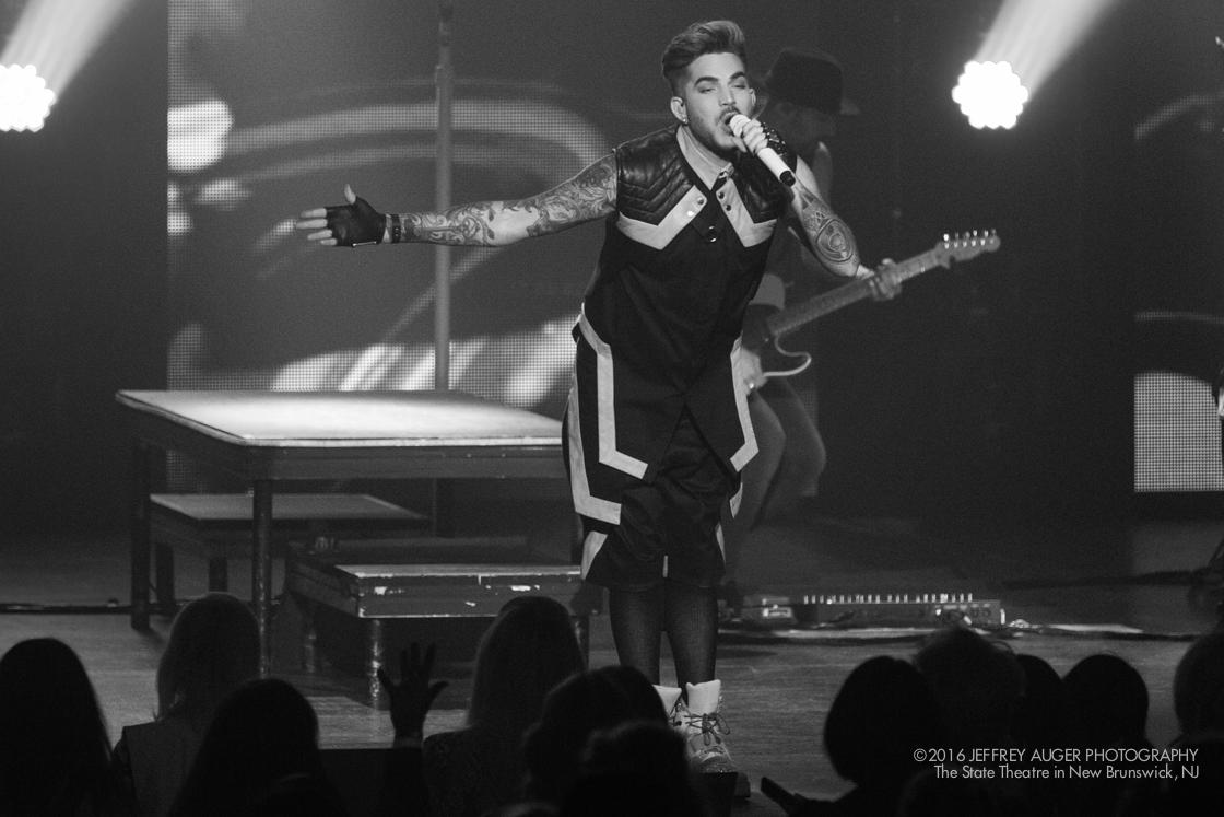 Adam Lambert at the State Theatre NJ