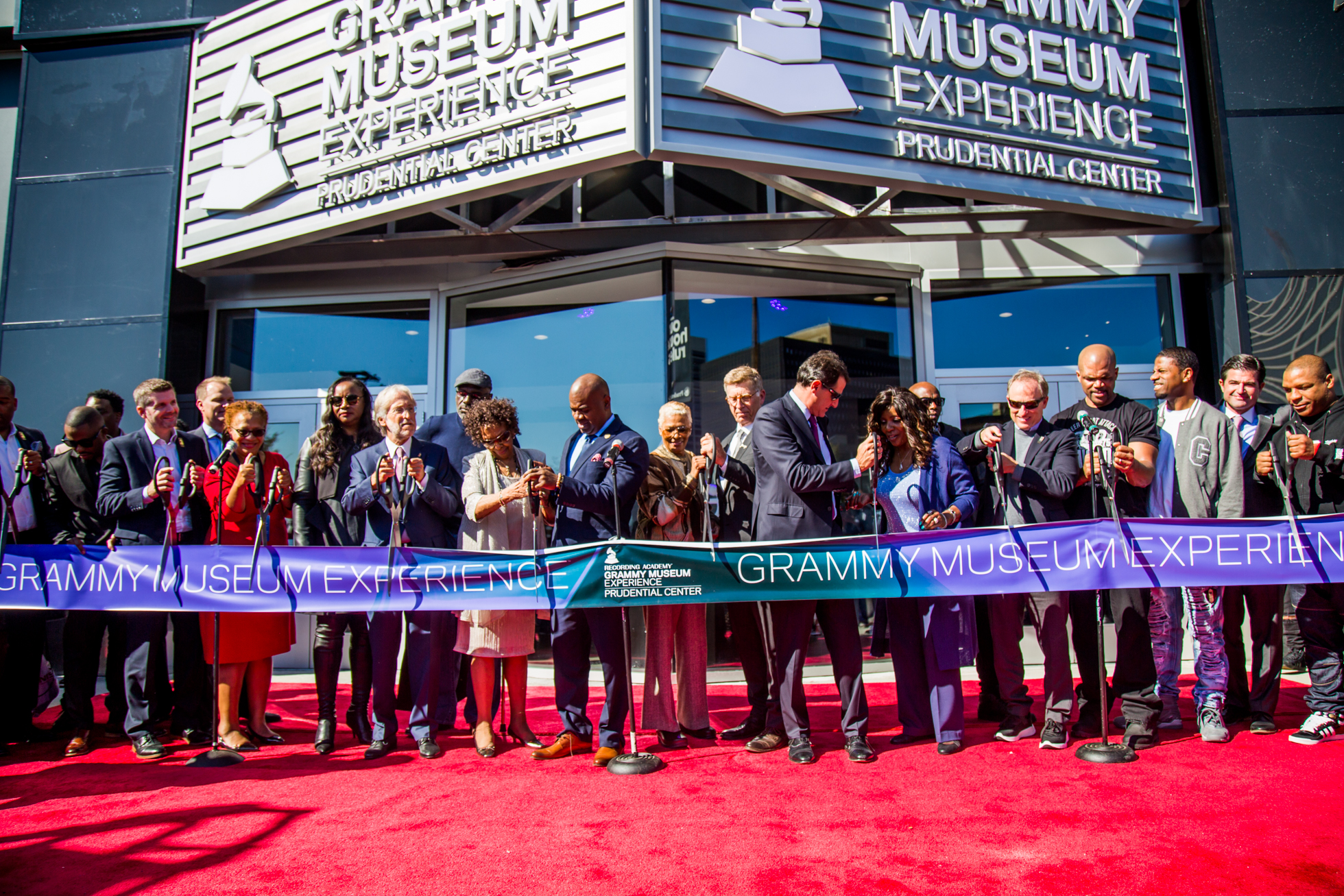 Grammy Museum Opening at Prudential Center