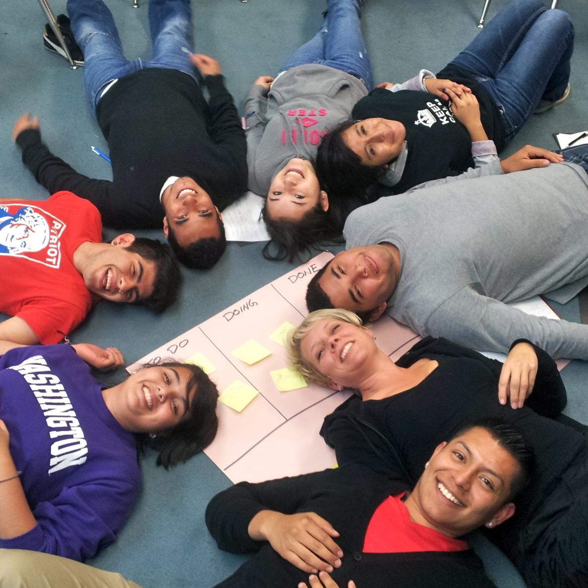 La Cima Staff, October 2012 Retreat at Cispus Learning Center