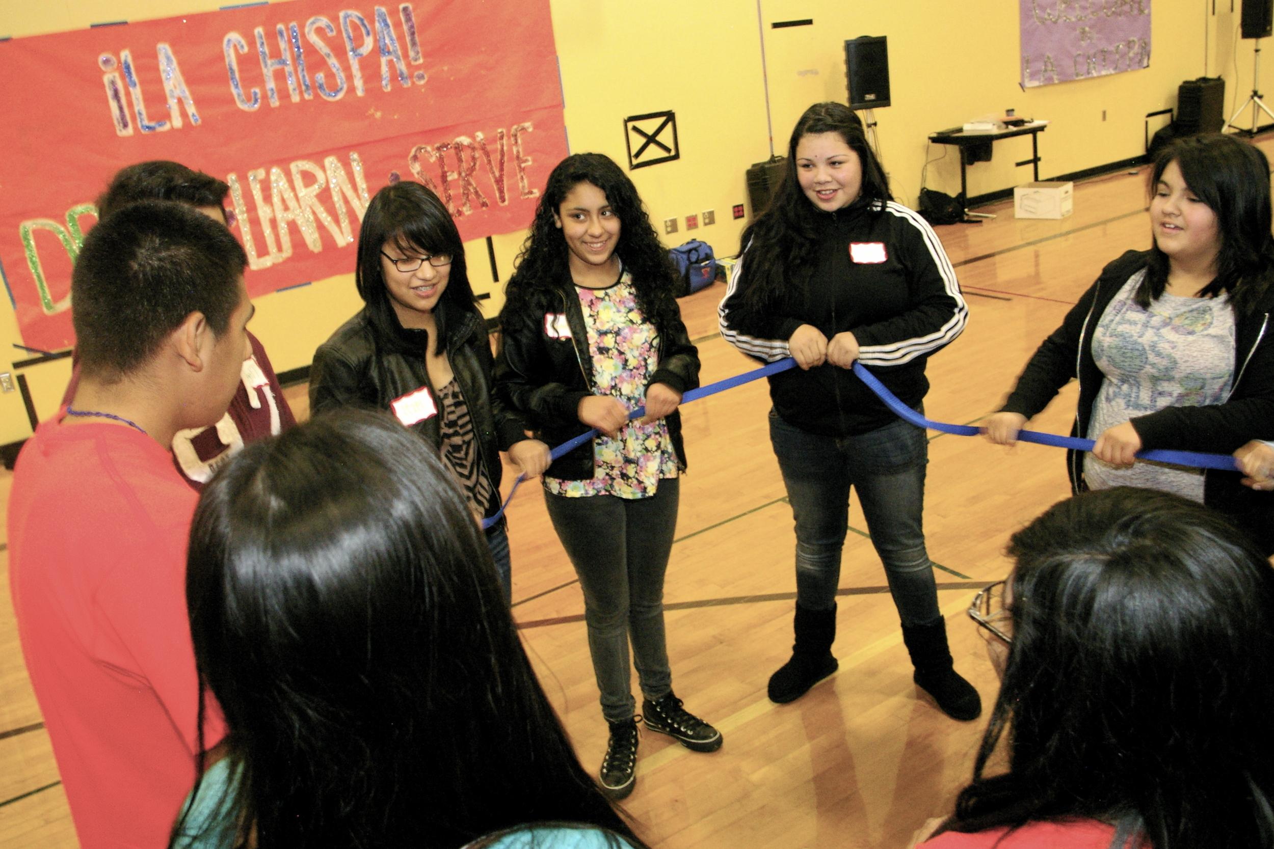 ¡La Chispa! Workshop at Sumner High
