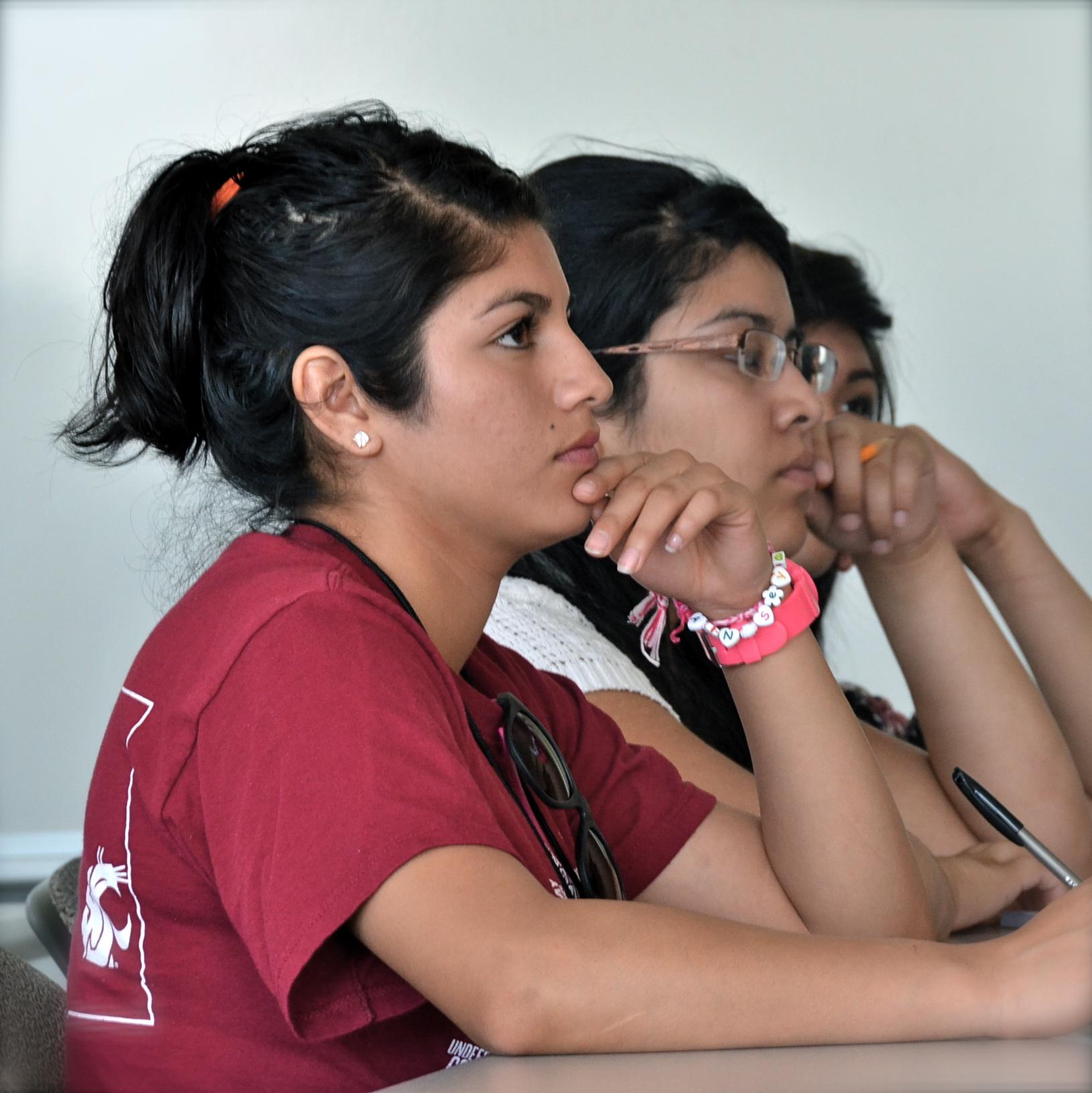Yesenia Rodriguez at the WSU Dare to Dream Academy, June 2013