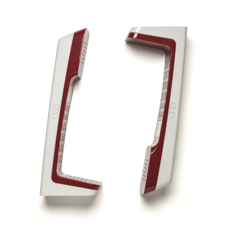 Copy of L7 telephone cherry red, designer telephone, landline, home phone