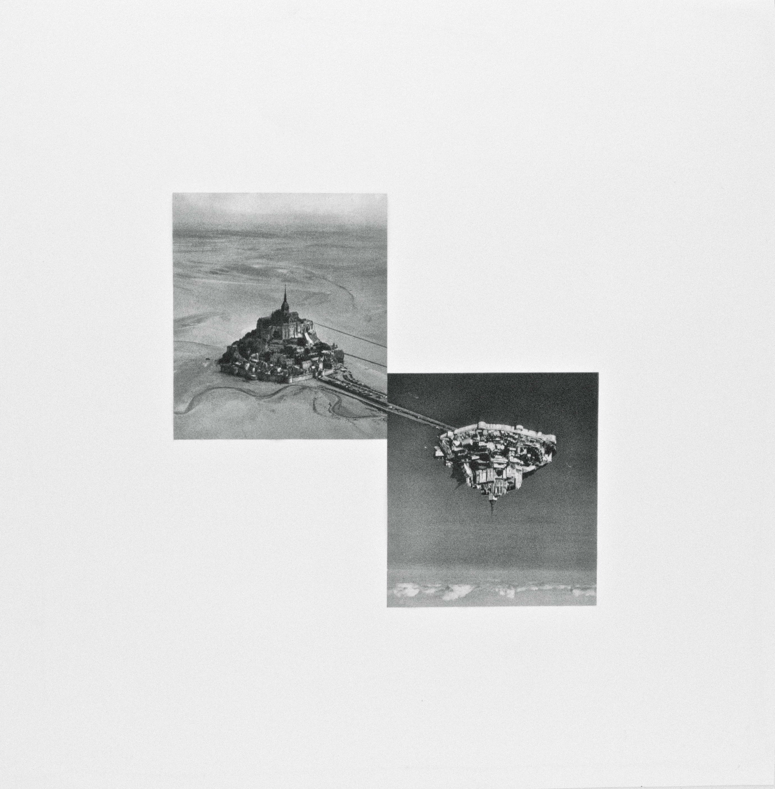 Seachange (II) , 2012. paper, ink