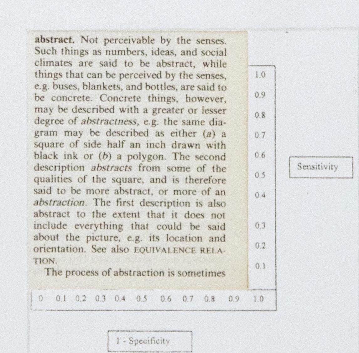 Making Sense (detail), 2012. paper, card