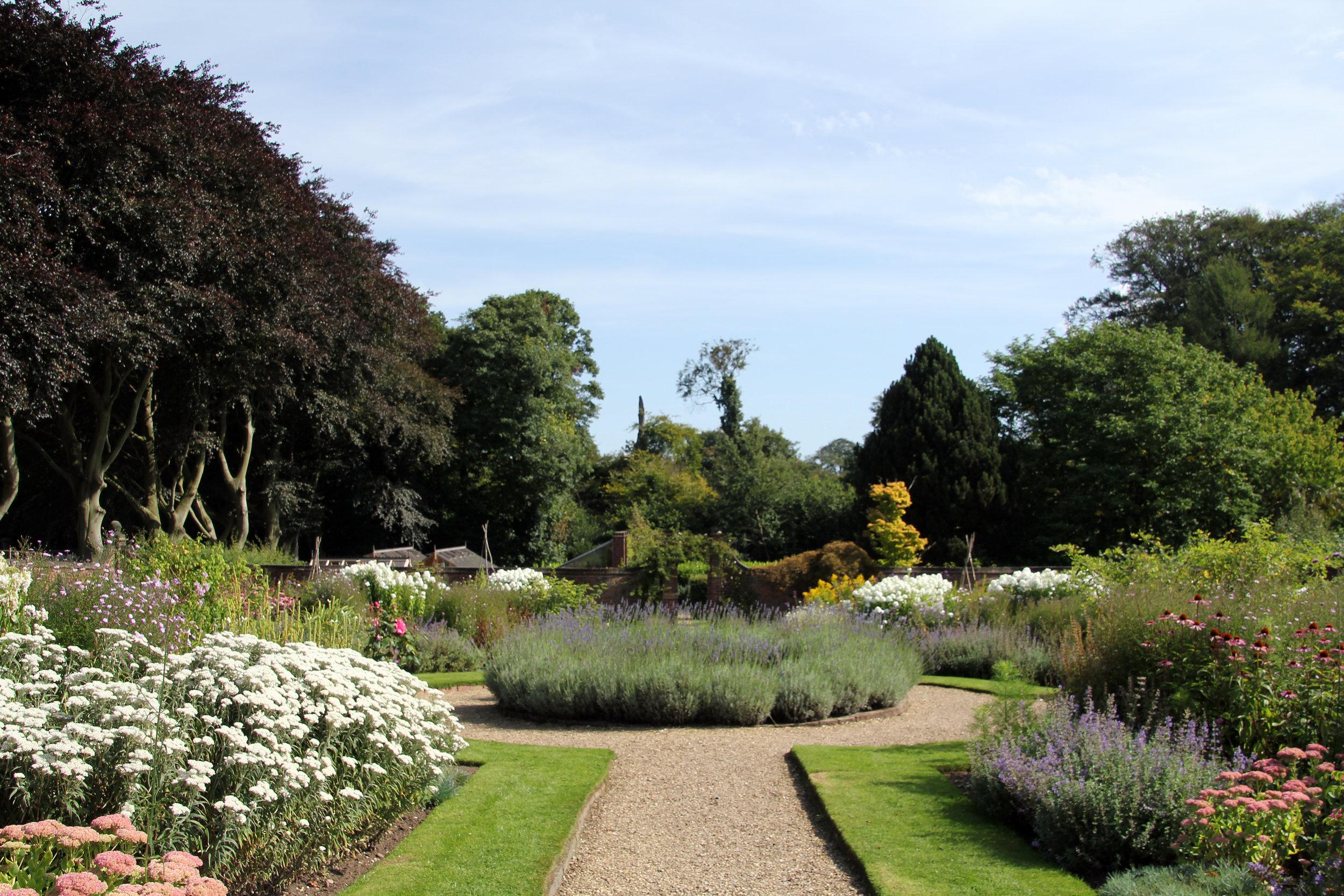Winterbourne Gardens in summer