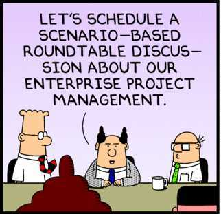From  Dilbert strip of Jan. 9, 2010 .